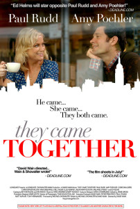 Paul Rudd Amy Poelher They Came Together movie poster