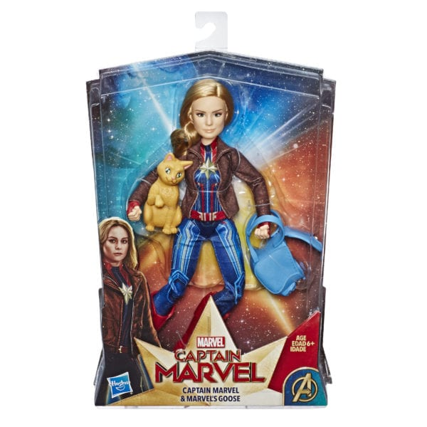 CAPTAIN-MARVEL-MOVIE-CAPTAIN-MARVEL-DOLL-AND-MARVEL'S-GOOSE-in-pkg-600x600