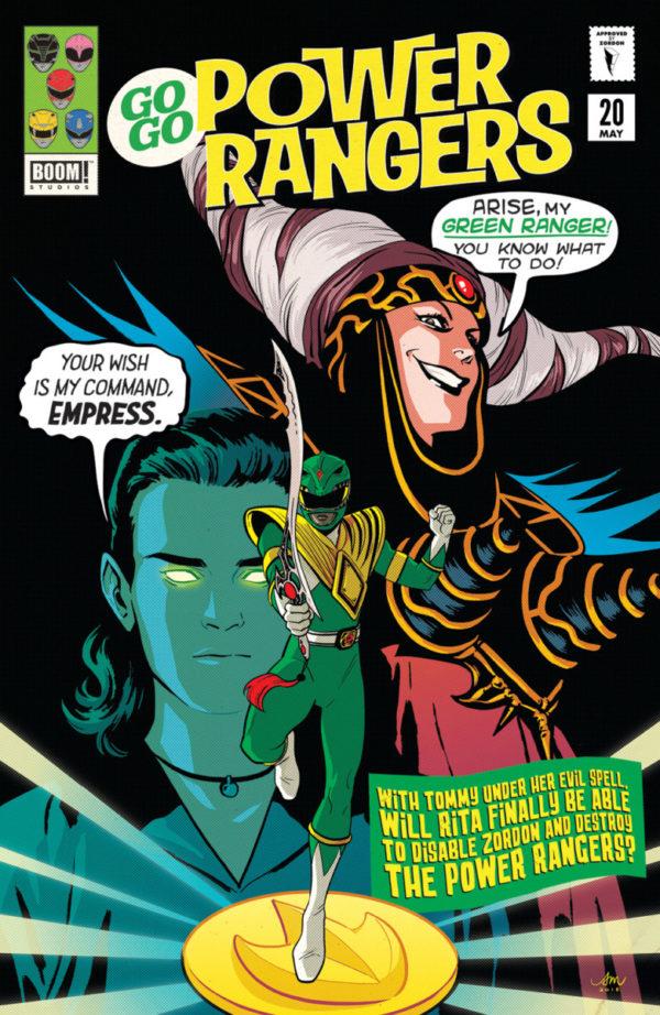 Comic Go Go Power Rangers #20 Diamond Retailer Summit Exclusive Mora Variant