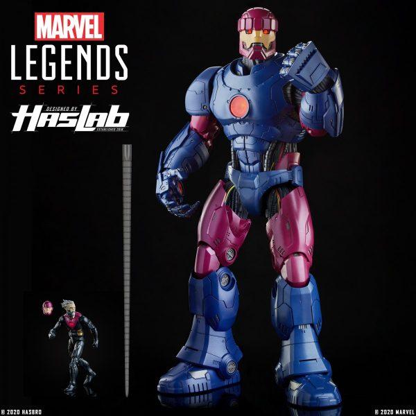 UPDATE: Hasbro's 26-inch HasLab Marvel Legends Sentinel action ...